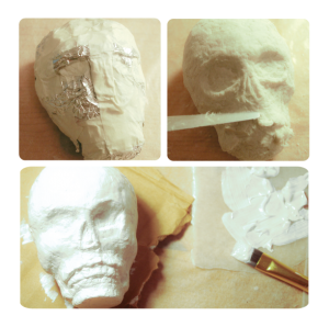 3_Sculpting_Skull