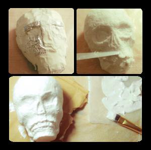3_Sculpting_Skull