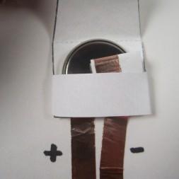 Chibitronics Paper Battery Holder Circuit Stickers