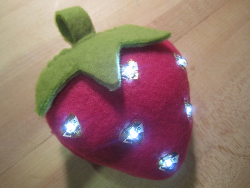 Light-up Strawberry