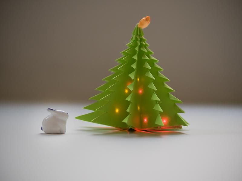 christmas tree - How To Make An Origami Christmas Tree