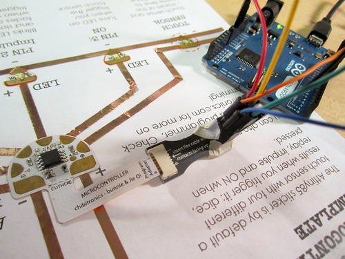 Programming the Microcontroller Sticker
