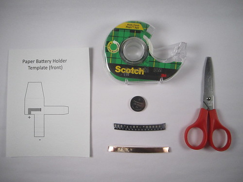 Paper Battery Holder Tutorial
