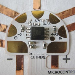 chibitronics microcontroller circuit sticker