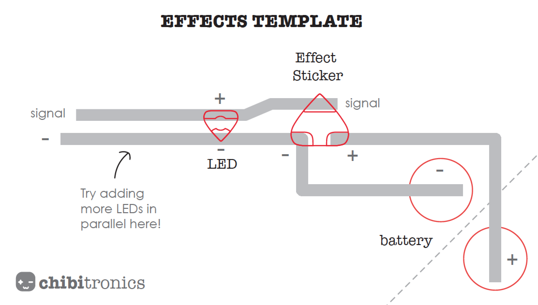 Explore Different Light Effects Chibitronics Designing Led Circuit Once The Is Complete And Working Have Students Quickly Share Them With Each Other You Could Use This Step As An Opportunity To Provoke