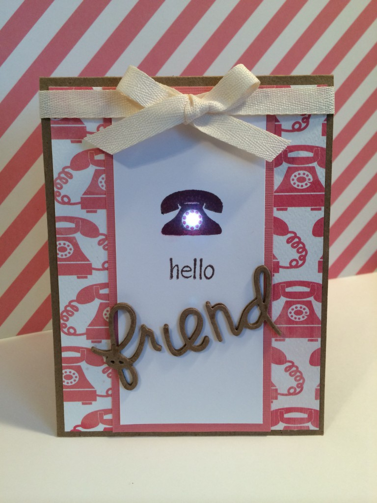 Phone a friend card