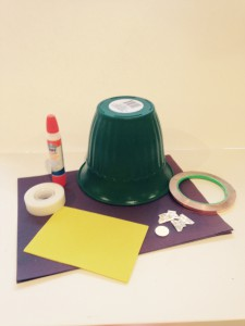 Materials Light Up Leprechaun Hat