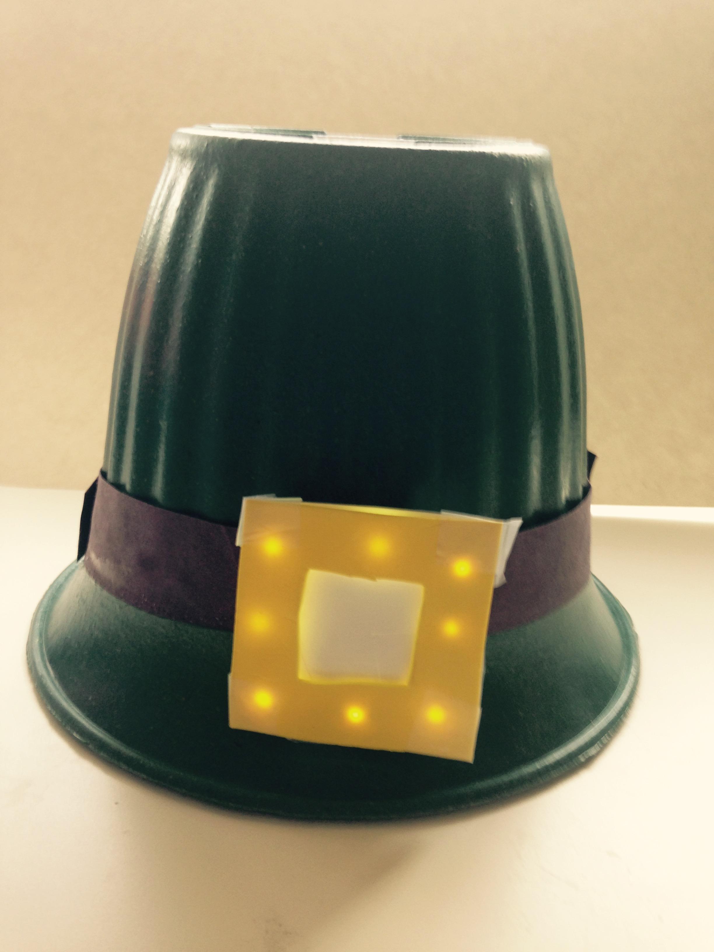 st patrick u0027s day light up leprechaun hat chibitronics