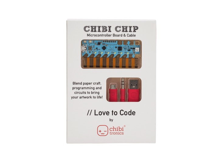 Chibitronics Love To Code: Chibi Chip & Cable - chibitronics