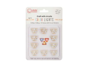 Red, Yellow and Blue LED sticker