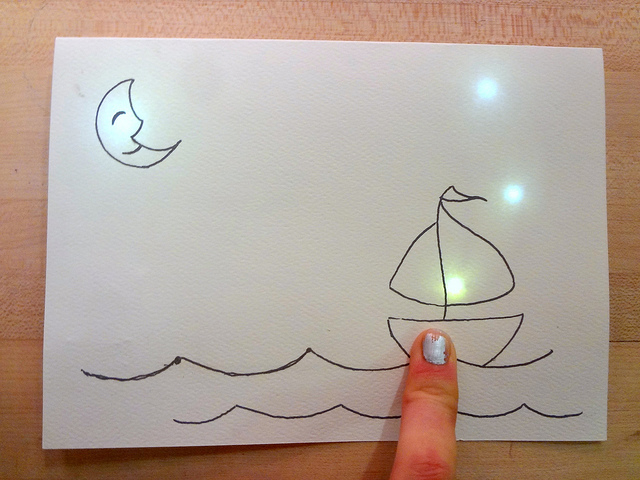 Interactive Sailboat Card