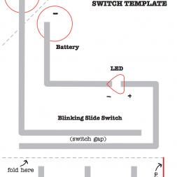 Blinking Slide Switch Template