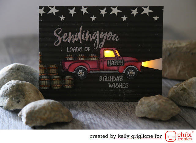 Lighted Pick Up Truck