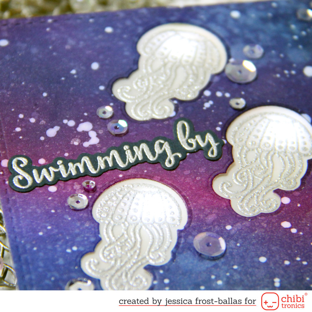 Swimming By to Say Hi by Jessica Frost-Ballas for Chibitronics