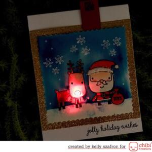Jolly Holiday Card