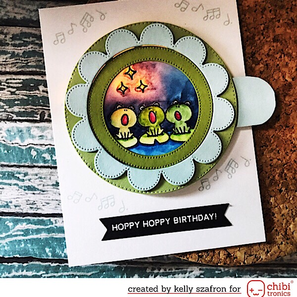 Hoppy Birthday Card