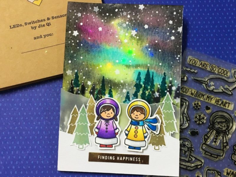 FINDING HAPPINESS – North Light card