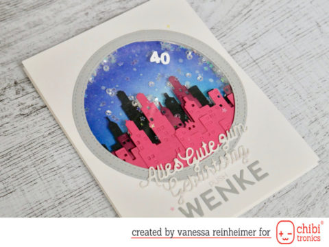 Only Die Cut LED Card