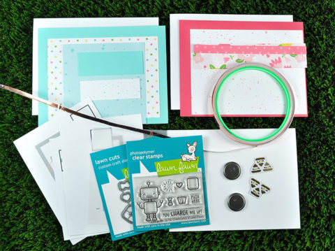 Chibitronics and Lawn Fawn collaboration kit release!