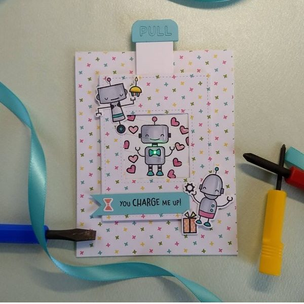 Chibitronics and Lawn Fawn Charge Me Up Kit Release and Inspiration, Day 2