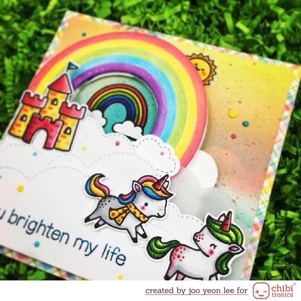 DOUBLE RAINBOW LIGHT-UP CARD