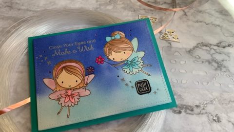 Fairies' Sparkling Birthday Card