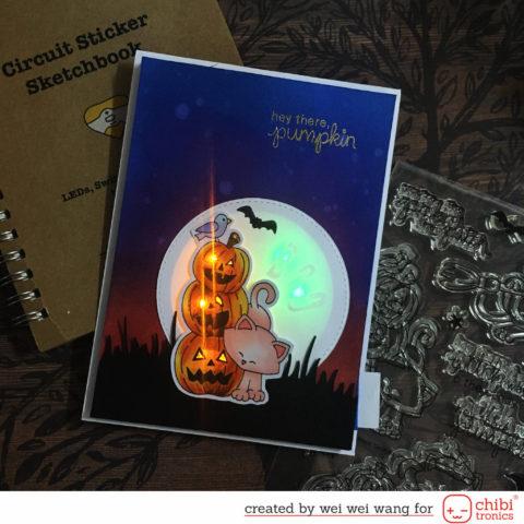 Light Up Hidden Message Halloween Cad