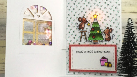 Light up Christmas card