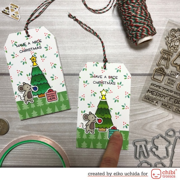 Merry Mice Tag
