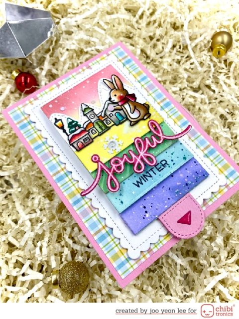 Flip Flap Card for Joyful Winter