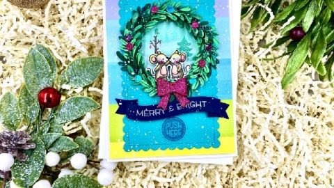 Mice in a Wreath