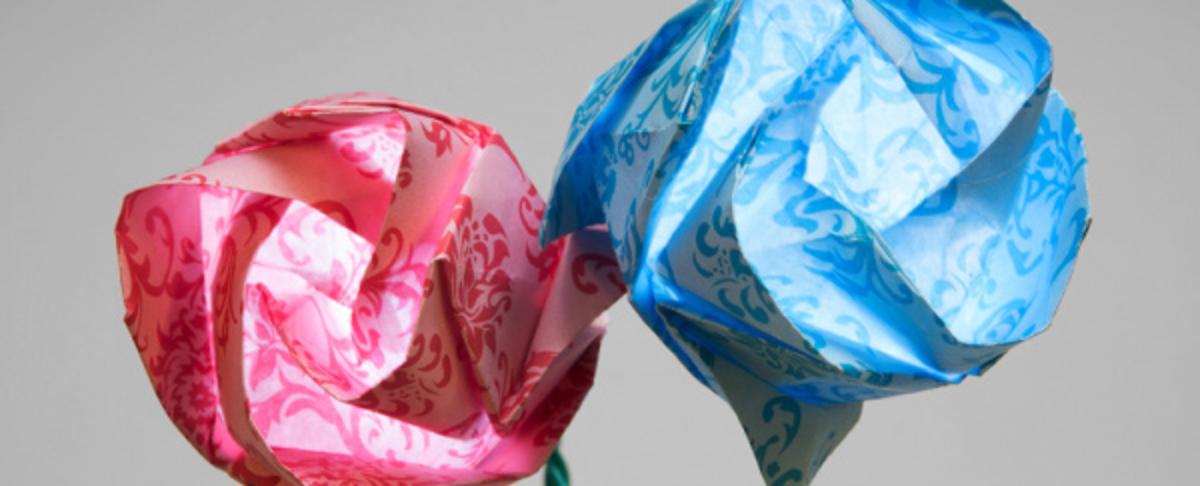 Origami LED Paper Sculptures