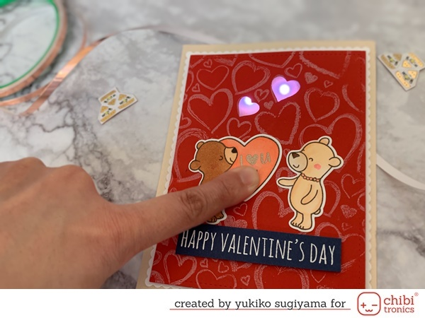 Valentine Light Up Card