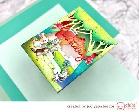 Shadow Box Pop-up Card