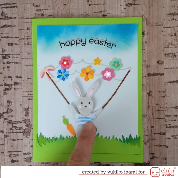 Spring has Come! —-Make a Circuit with Silver Ink Pen