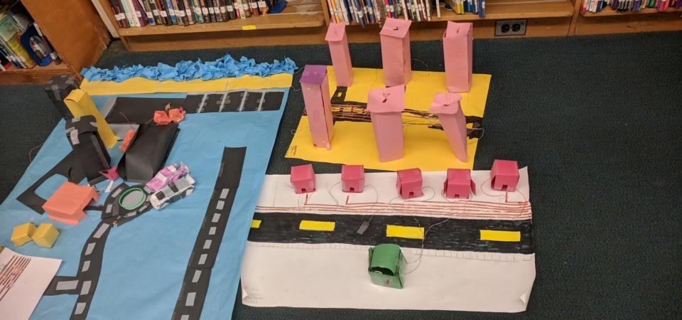 interactive paper city