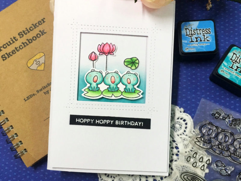 Pop up and light up card