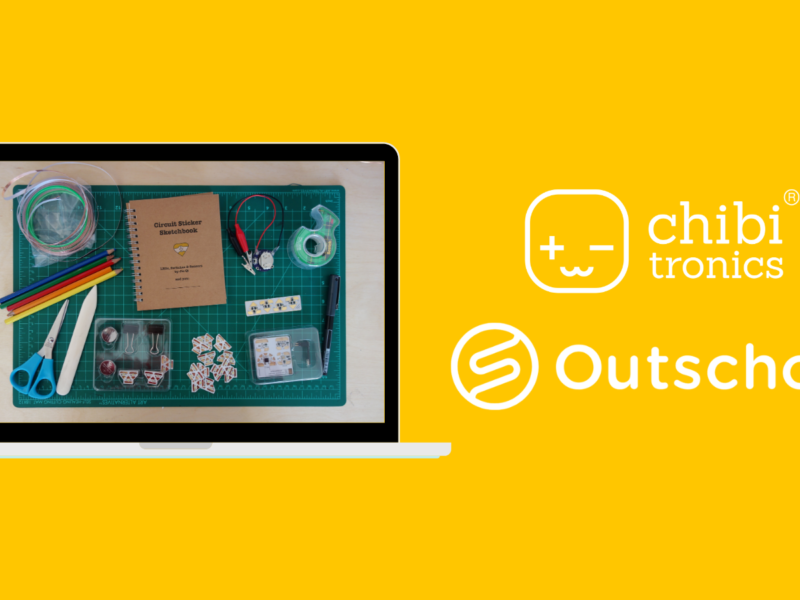 Paper Circuits with Chibitronics on Outschool