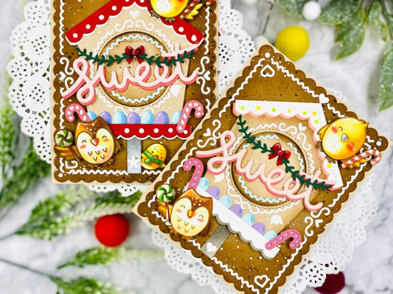 Lift the Flap Card for Sweet Christmas