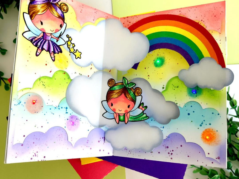 love you fairy much light up card