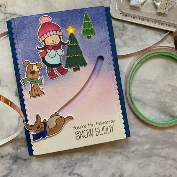 Penny Slider Switch Card
